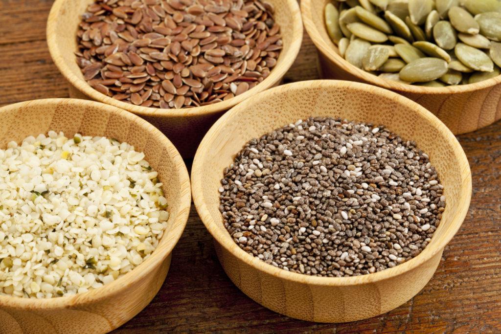 semillas de chía y lino para el estreñimiento