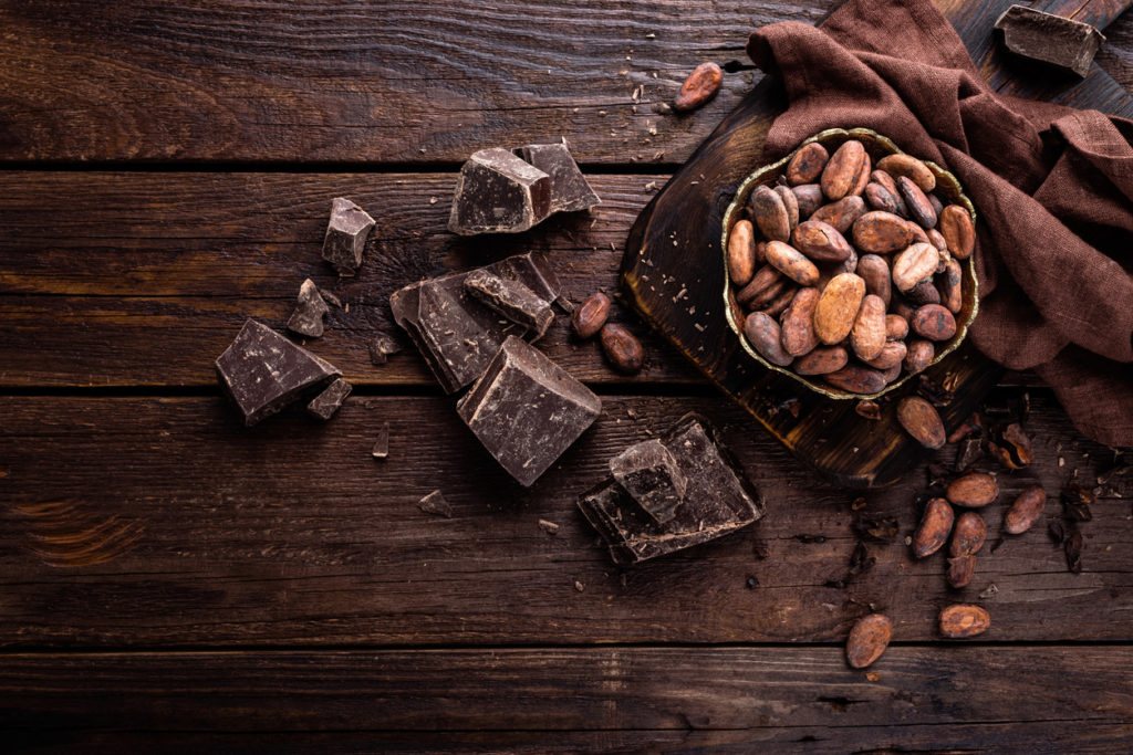 CHOCOLATE BE HEALTHY AND HAPPY