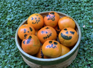 MANDARINA CALABAZA HALLOWEEN SALUDABLE HEALTHY